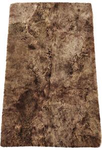 eco-peau-d-039-AGNEAU-d-039-Islande-Tapis-115-x-190-cm-de-fourrure-chataignier-en-4