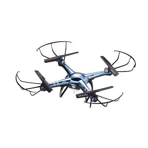 Rooftop Cloud Rider HD Video Drone - blu/Chrome Takes video and still shots wit