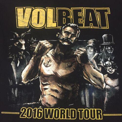 Volbeat Medium Black T-shirt World Tour Rock Band
