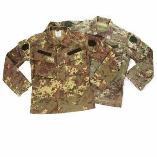 Itial army surplus Vegetato camouflage ripstop field shirt