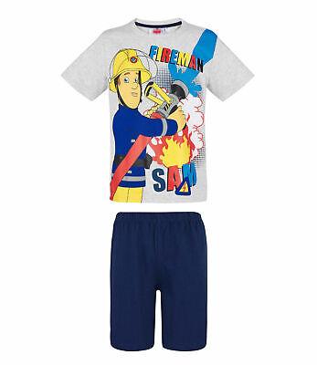 Fireman Sam Official Gift Baby Toddler Boys Kids Long Pyjamas