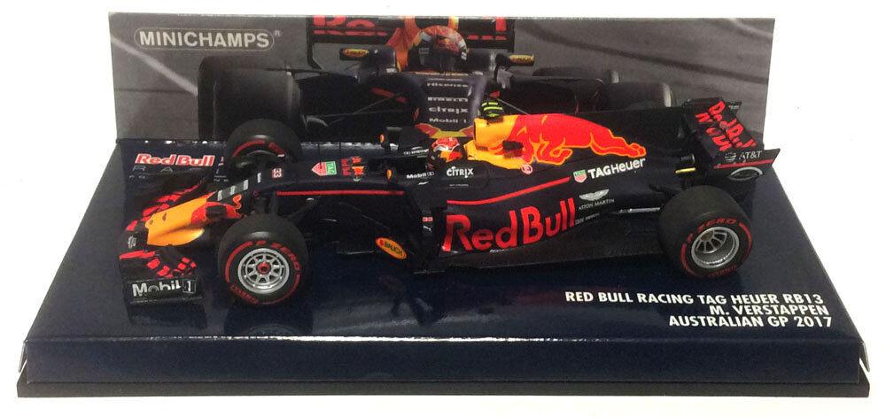 Minichamps Red Bull RB13 Australian GP 2017 - Max Verstappen 1 43 Scale