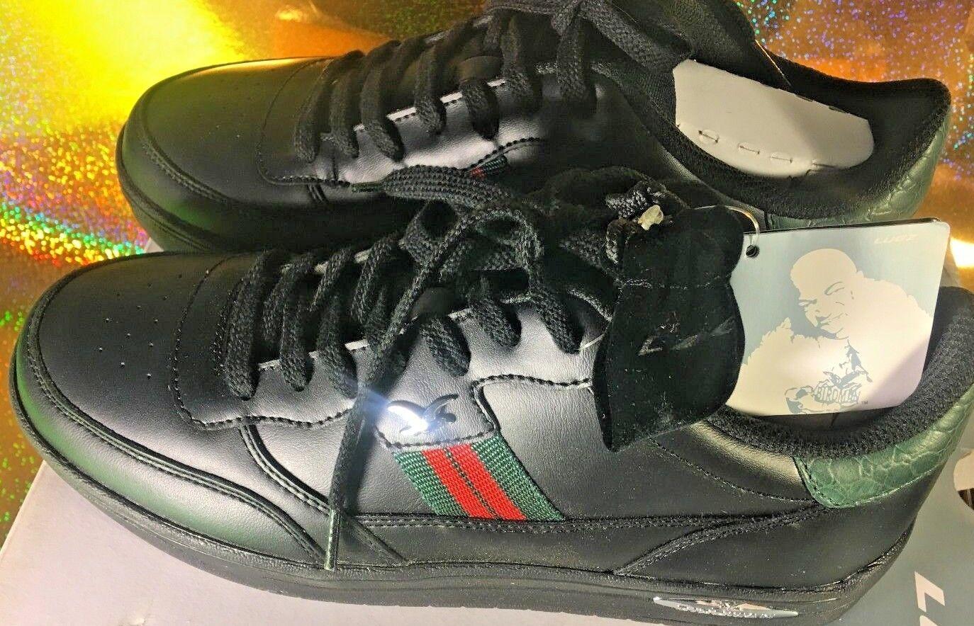 LUGZ classic shoes laces bird man, leather up, size 9.5 men