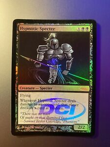 Magic The Gathering MTG HYPNOTIC SPECTER DCI Promo FOIL Card x1 New