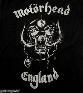 MOTORHEAD-cd-lgo-SILVER-ENGLAND-Official-Babydoll-SHIRT-XXL-2X-new