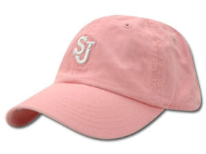 9ebe44a7eec St. Johns Red Storm Kid s Pink Diva Hat Cap Toddler SJ University ...