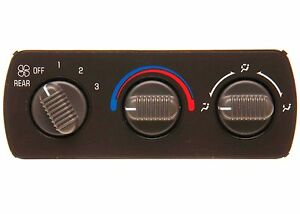 Details about HVAC Control Panel-Aux Heater A C Control Over Head Console  15-72620 NEW GM