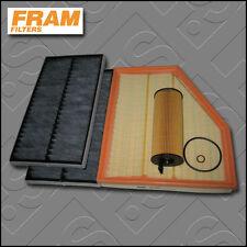 SERVICE KIT BMW 5 SERIES 520D N47 E60 E61 FRAM OIL AIR CABIN FILTERS (2007-2010)