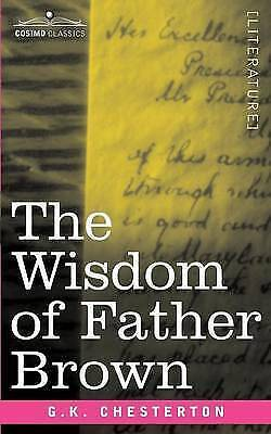The Wisdom of Father Brown, Chesterton, G. K., New Book