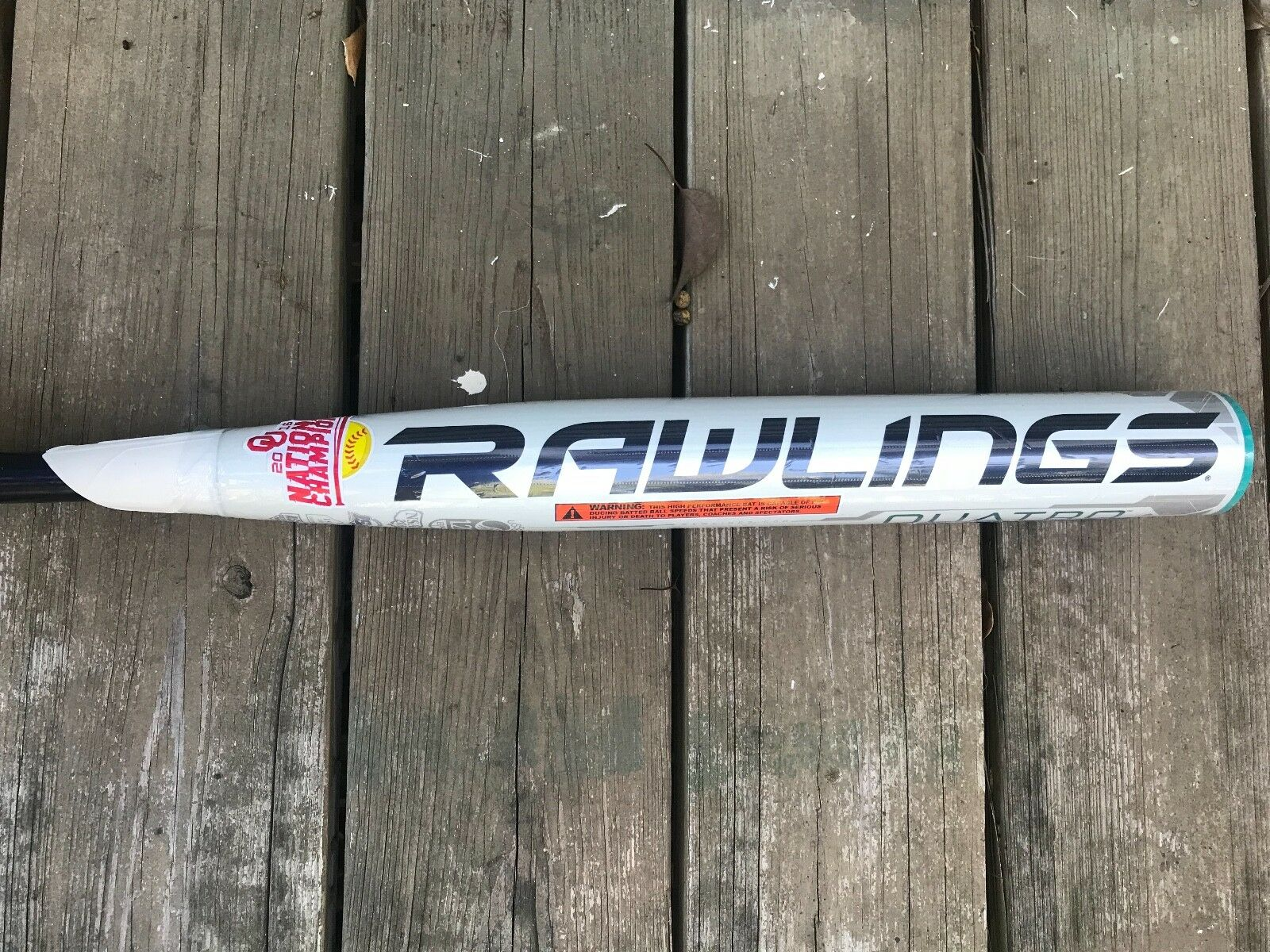 Rawlings Quatro -10 Softball Bat size 33/24 Brand new in wrapper