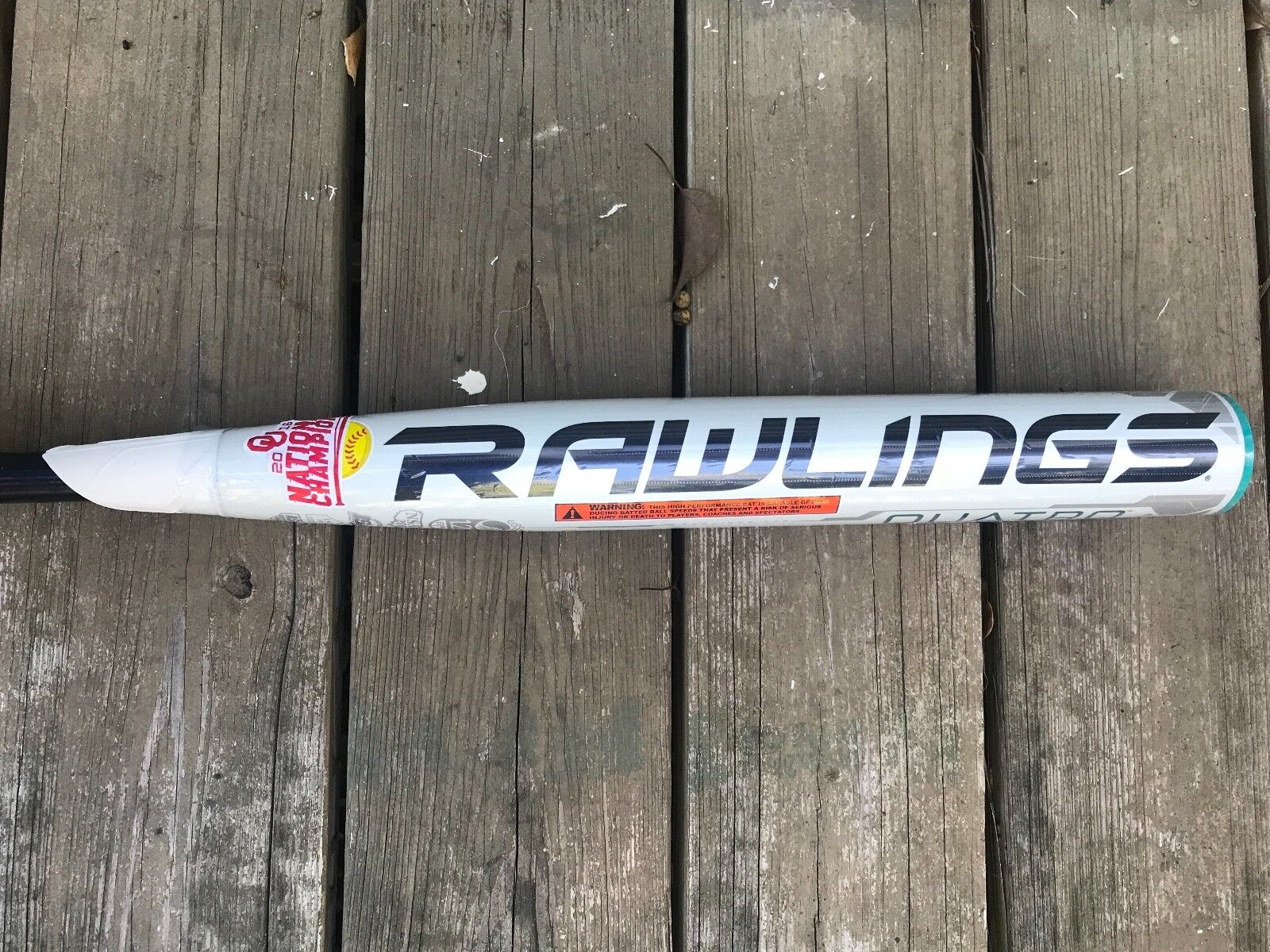 Rawlings Quatro -10 Softball Bat size 33/24 Brand new in wrapper