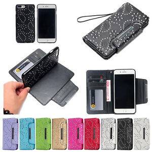 For-iPhone-XS-Max-XR-7-8-Leather-Removable-Wallet-Magnetic-Flip-Card-Case-Cover