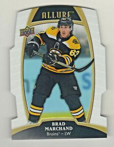 2019-20-Upper-Deck-Allure-WHITE-RAINBOW-DIE-CUT-14-BRAD-MARCHAND-Boston-Bruins