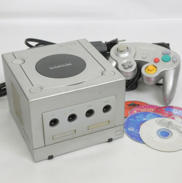 Game Cube Silver Console System DOL-001JP For Japan Game CD FREE SHIP 10255403