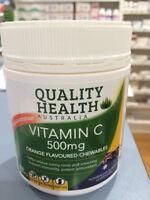 Vitamin C 500mg 200 Tablets Ascorbic Acid 100% Australian Made