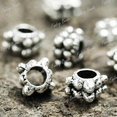 400Pcs Tibetan Silver Tube DIY Spacers Findings TS1396
