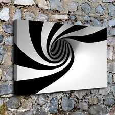Designart 3d Abstract Art Black White Abstract Digital Art Extra