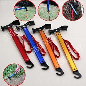 Image is loading UK-C&ing-Hammer-Ultralight-Mallet-Tent-Pegs-Stake-  sc 1 st  eBay & UK Camping Hammer Ultralight Mallet Tent Pegs Stake Nail Puller ...