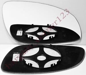 Vauxhall Vectra C Hatchback 2002-2009 Heated Convex Mirror Glass Passenger Side