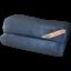 set of 2 Dark Blue MojaFiber™ Luxury Bath Towel