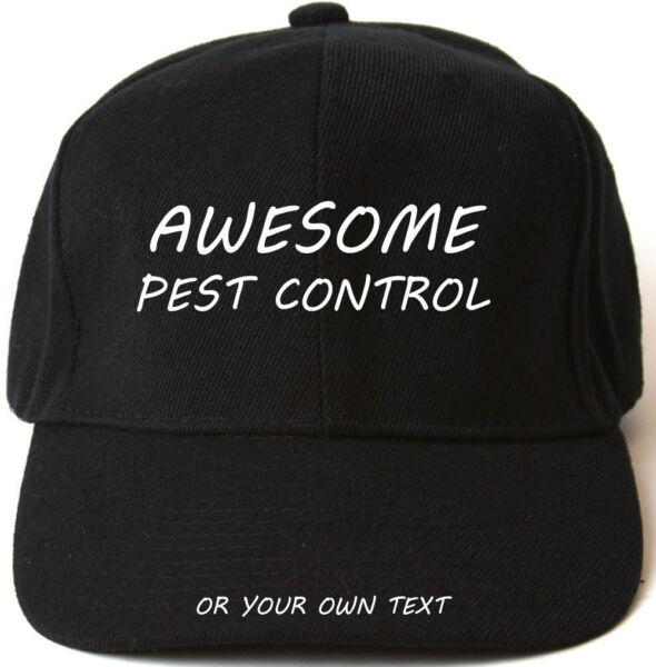 2019 Ultimo Disegno Fantastico Pest Control Personalizzato Berretto Da Baseball Cappello Regalo Di Natale Garanzia Al 100%