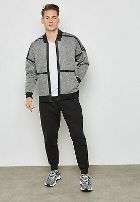 mercado tornillo Agradecido  Adidas ZNE Reversible Full Zip Gray Black Jacket CF0652 Men Size Medium  191031912094 | eBay