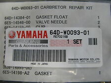 NEW 64D-W0093-01 YAMAHA OUTBOARD CARBURATOR REPAIR KIT 150-225 HP , 2 STROKE