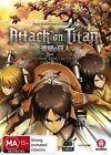 Attack On Titan : Season 1 (Blu-ray, 2017, 4-Disc Set)