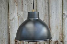 Cool black dome industrial ceiling light factory lamp shade light pendant BDG3