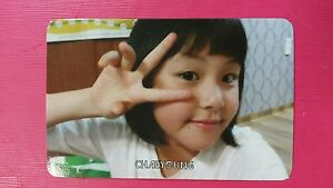TWICE CHAEYOUNG #2 Official PHOTOCARD Orange Kid 1st Album