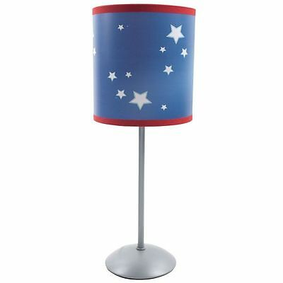 BOYS KIDS CHILDRENS BLUE SPACE STARS PLANET BEDROOM PENDANT LIGHT SHADE