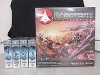 Robotech Rpg Tactics - Base Game & 4 Additional Squadrons - 2014 Palladium Books