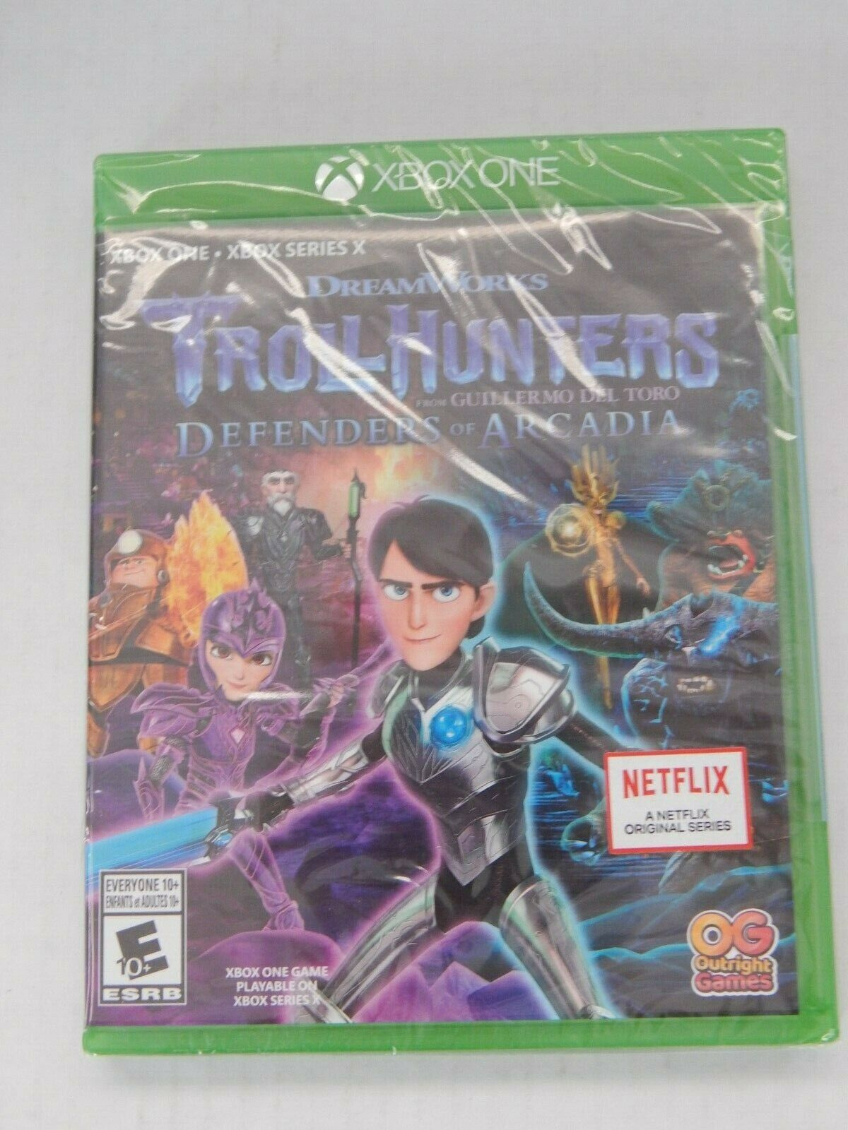 Trollhunters: Defenders Of Arcadia Xbox One Xbox Series X New Factory Sealed