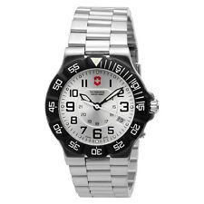 BLEM Victorinox Swiss Army Summit XLT Mens Watch Model 241346 silver dial 071d1a68cc7