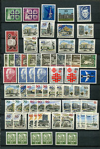 Berlin-Riesenlot-Marken-60er-Jahre-postfrisch-JR-I