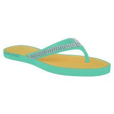 4552d2c874b2e item 2 WOMENS LADIES DIAMANTE FLIP FLOPS JELLY SANDALS SUMMER BEACH TOE  POST SHOES SIZE -WOMENS LADIES DIAMANTE FLIP FLOPS JELLY SANDALS SUMMER  BEACH TOE ...