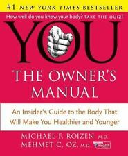 YOU The Owner's Manual Book Dr. Oz and Dr. Roizen with Jacket