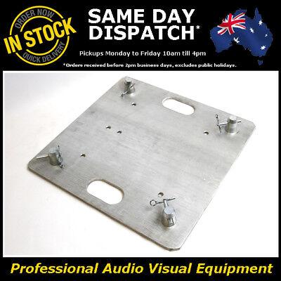 8mm Aluminium Base Plate Box Truss 290mm Heavy Duty Trussing