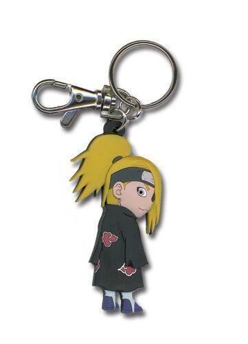 Chibi Deidara PVC Key Chain by GE Animation *NEW* Naruto Shippuden