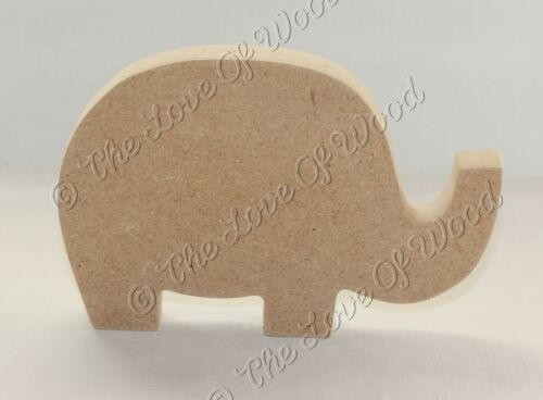 Free Standing ELEPHANT #2 MDF wooden craft shape 100m,150mm /& 200mm wide