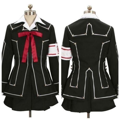 Vampire Knight Yuki Kuran Cross Halloween Cosplay Costume Uniform Dress Outfit