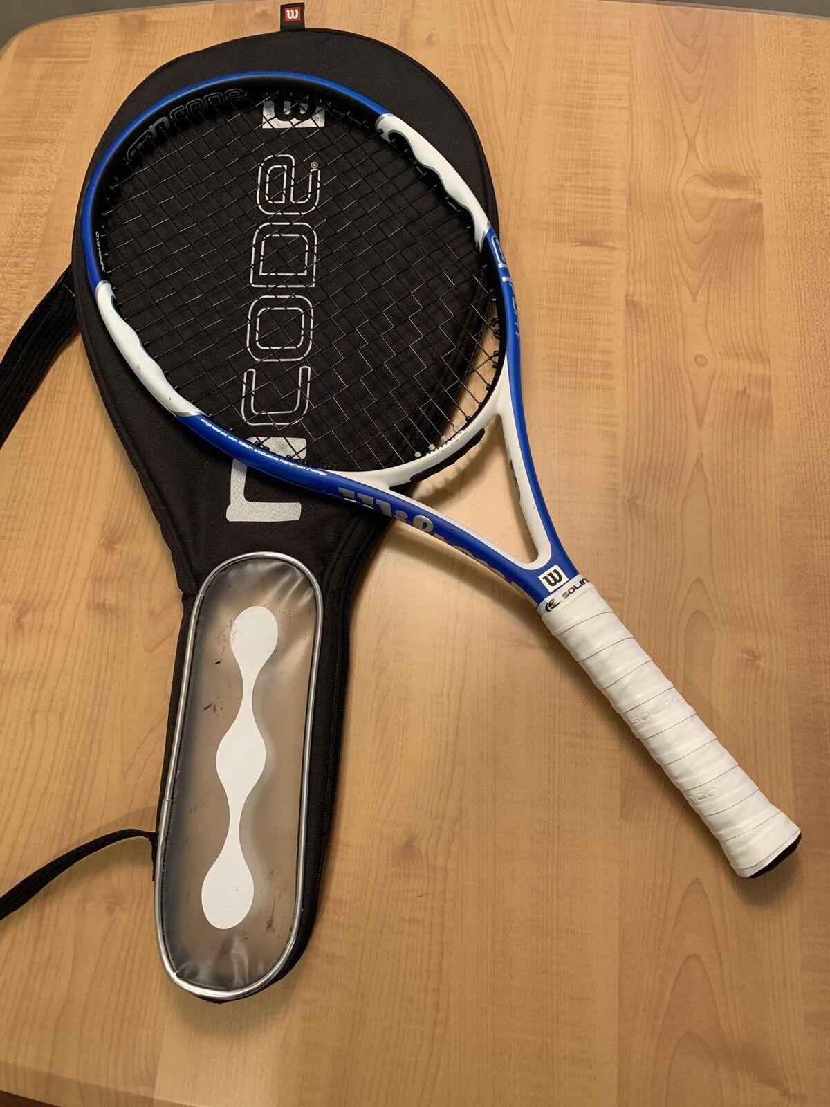 ☀️ Wilson NCode N Fury 110 head 4 3 8 grip Tennis Racquet