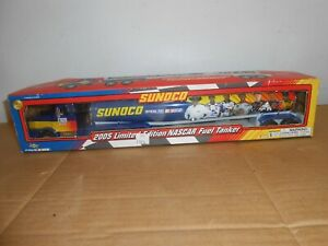 2005 toy truck sunoco nascar fuel tanker limited edition 12th in series