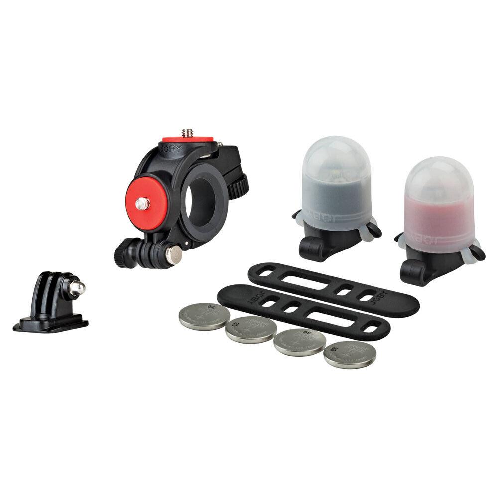 Luz de bicicleta de montaje y Joby Action Pack JB01388, (Reino Unido)