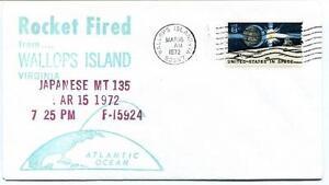 1972 Wallops Island Rocket Fired Japanese Mt-135 F-i5924 Wff Goddard Base Nasa Jouir D'Une Haute RéPutation Sur Le Marché International