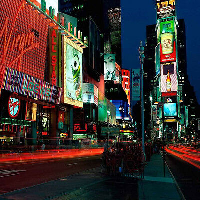 City Nightscape 10'x10' CP Backdrop Computer printed Scenic Background ZJZ-683