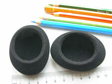 RICAMBIO : 2 SPUGNA / SPUGNE Protezioni CUFFIE 66x55 mm