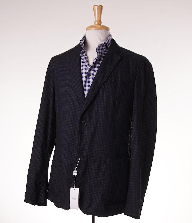 NWT  ARMANI COLLEZIONI Lightweight Dual Layer Cotton Sport Coat Slim 42 R