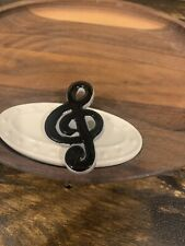 Music to my Ears #A164 NEW Nora Fleming RETIRED Musical Note Mini
