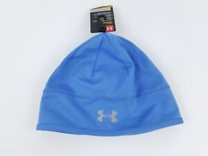 2e26aee772f Image is loading NWT-Under-Armour-Womens-ColdGear-Running-Reflective-Beanie-